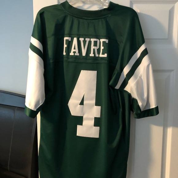 0498db4a Authentic Brett Favre #4 New York Jets Jersey